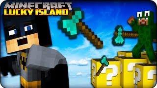 Minecraft - Lucky Block Survival Island -