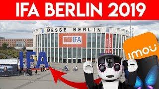 IFA 2019   FERIA en BERLÍN: ¡Probamos SAMSUNG GALAXY FOLD & LG G8X Think & cámaras IMOU!