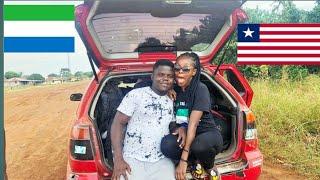 13Hour Road Trip Vlog!!!/Sierra Leone To Liberia!