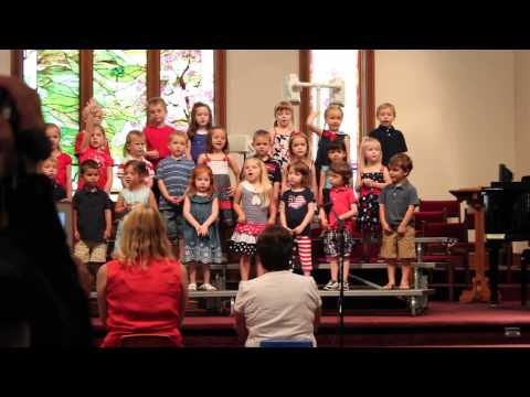 Butterfly Song - Calvary Weekday School Spring 2013