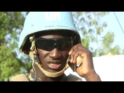 Portrait - Capitaine TOURE, Force d'intervention rapide de la MINUSMA