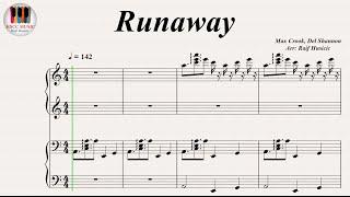 Runaway - Del Shannon, Piano Four Hands