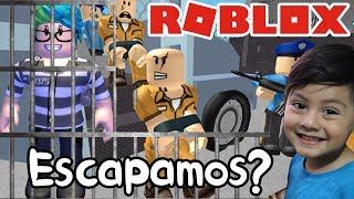 The Prison in Roblox ESCAPE FROM THE PRISION Roblox Obby in Spanish