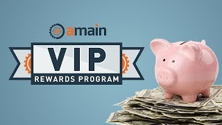 Rush Processing? 365 Day Return Policy? Earn 2X More Points? The AMain Hobbies VIP Rewards Program