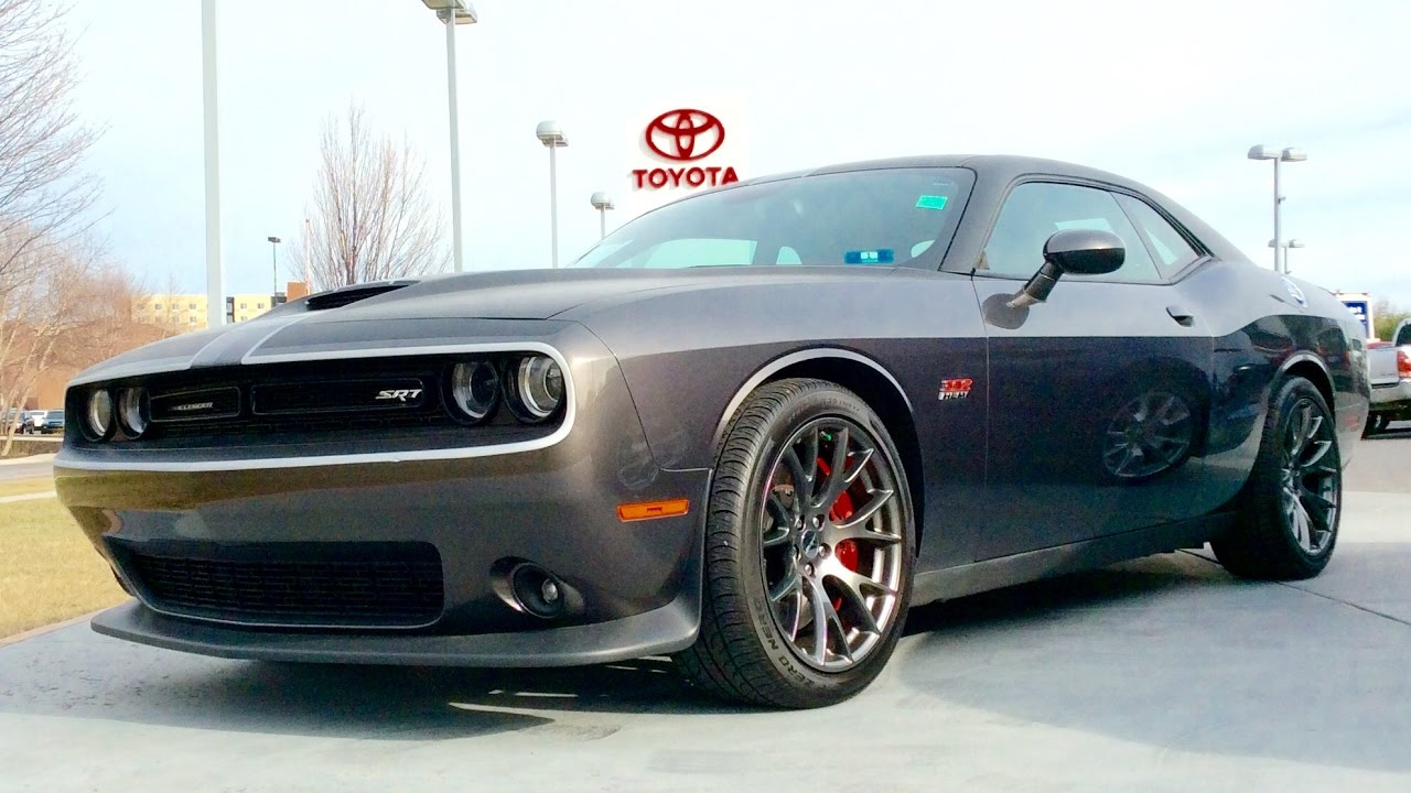 2016 Dodge Challenger Srt 392 Hemi Start Up Review And Full Tour