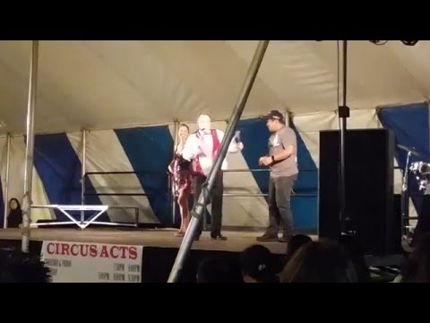 Anastasini Circus Act at Maui County Carnival 2016
