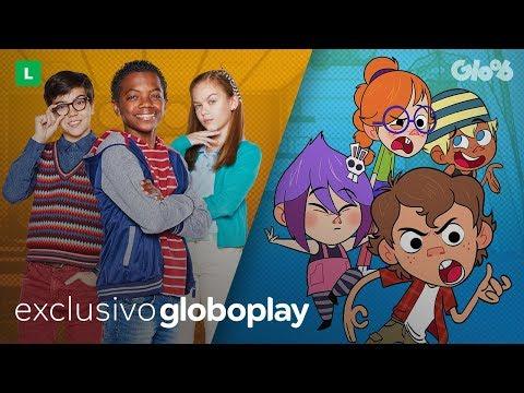 Hora do Rock e Escola de Gênios   Exclusivo no Globoplay