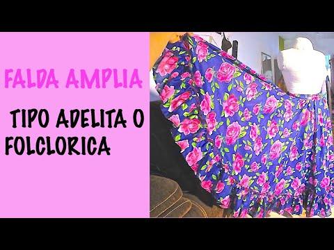 FALDA TIPO ADELITA