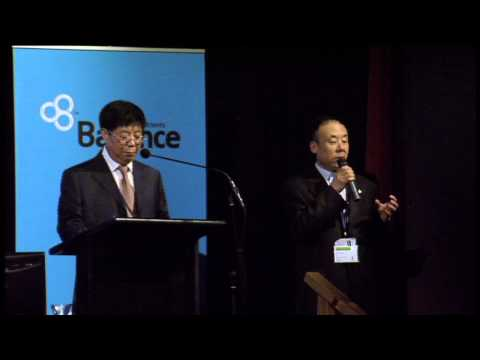 Prof Yang - Chairman of Chinese Deer Farmers Association - 2014 Deer Industry NZ Conference