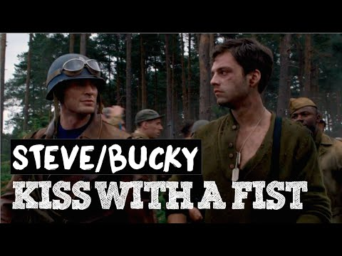 Steve/Bucky ◆ Kiss With A Fist (Florence + The Machine) Fanvid