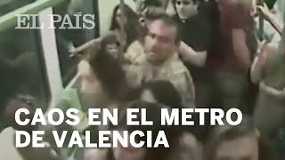 Así fue cómo un grupo de evangelistas sembró el miedo en el metro de Valencia