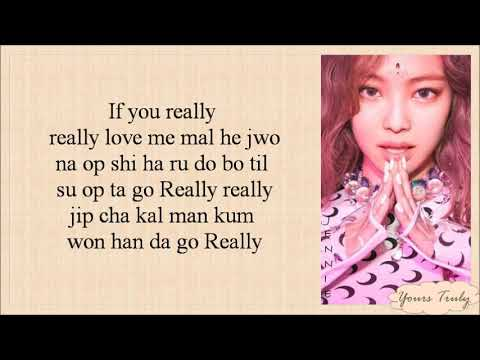 BLACKPINK - REALLY (Easy Lyrics)