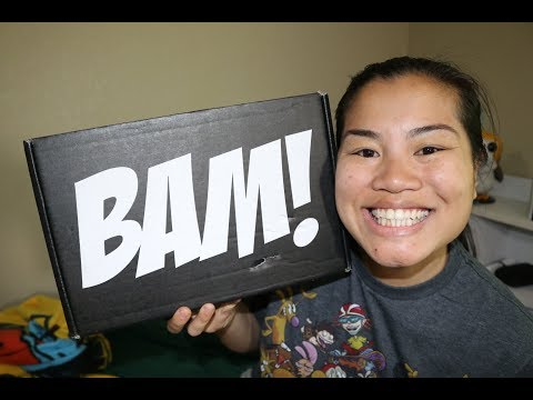 2018 March BAM! Box Unboxing