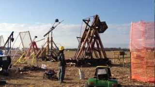 Whomping Willow Youth Trebuchet At The 2012 Punkin Chunkin