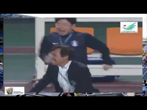 South Korea vs North Korea 1 - 0 Football 17th Asian Games Incheon 2014