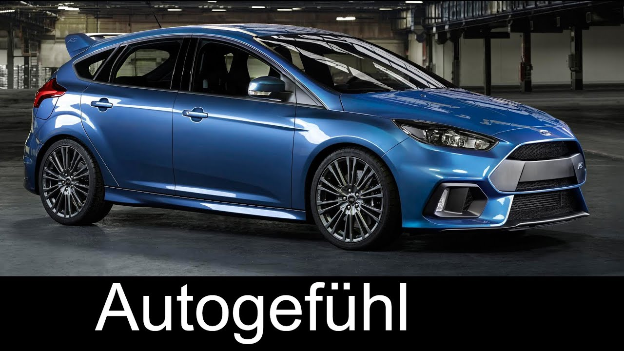 neuer ford focus rs 2016 4x4 weltpremiere in k ln mit interview autogef hl youtube. Black Bedroom Furniture Sets. Home Design Ideas