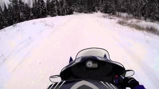 snowmobile trail riding eagle river wi gopro hero hd