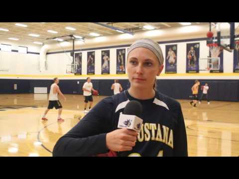 Senior Sydney Rome on the teams first week of practice