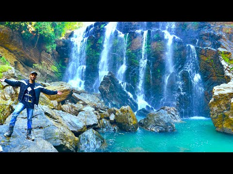 Exploring satthodi waterfalls and hanging bridge ll Dandeli ll himalayan sleet ll