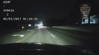 Full video: Highway Patrol releases video of YSU officer's OVI arrest