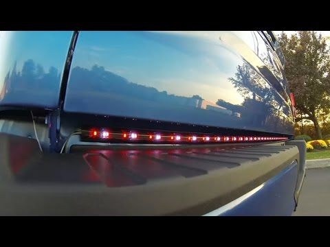 Lumen tailgate light bar installation on ford f 150 youtube aloadofball Gallery