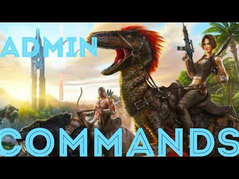 ARK ADMIN COMMANDS LISTA DE ITENS