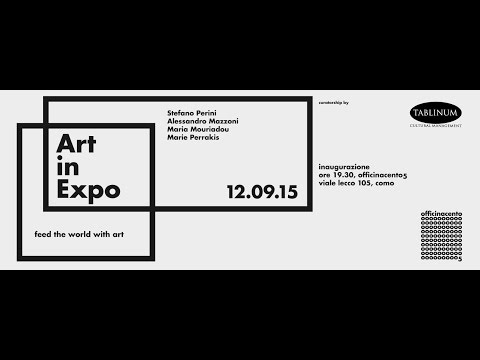 Art in Expo. Feed the World with Art. 2nd Part.