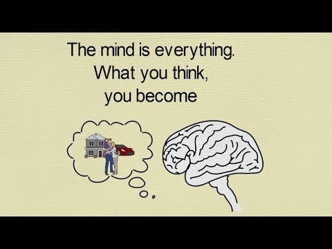 The Mind Is Everything What You Think You Become Motivational