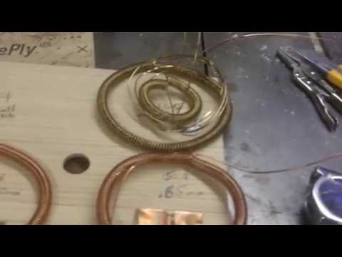 How To Make Copper Wire Energy Coils