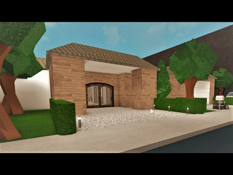 Building A One Story House! Roblox Bloxburg 207k YouTube