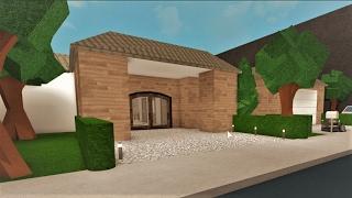 Bau eines einstöckigen Hauses! Roblox - Bloxburg (207k)