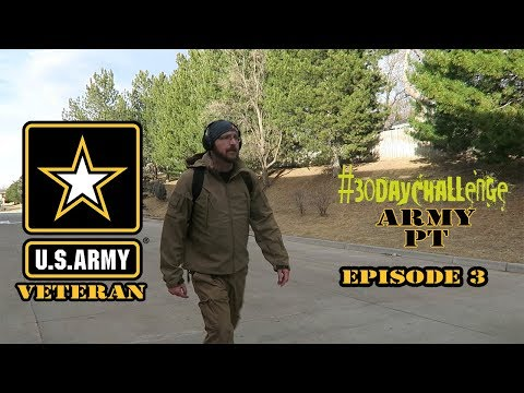 After hours PT (EP3) Army workout