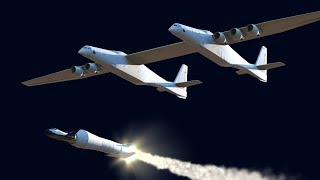 Stratolaunch World's Largest Airplane Launching Dreams