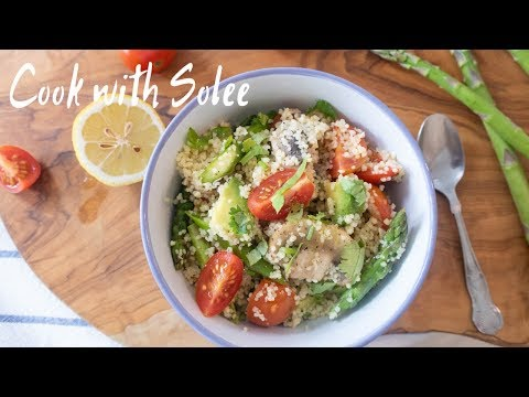 Couscous Salad | 古斯米沙拉 |Lunch Ideas | 午餐食譜