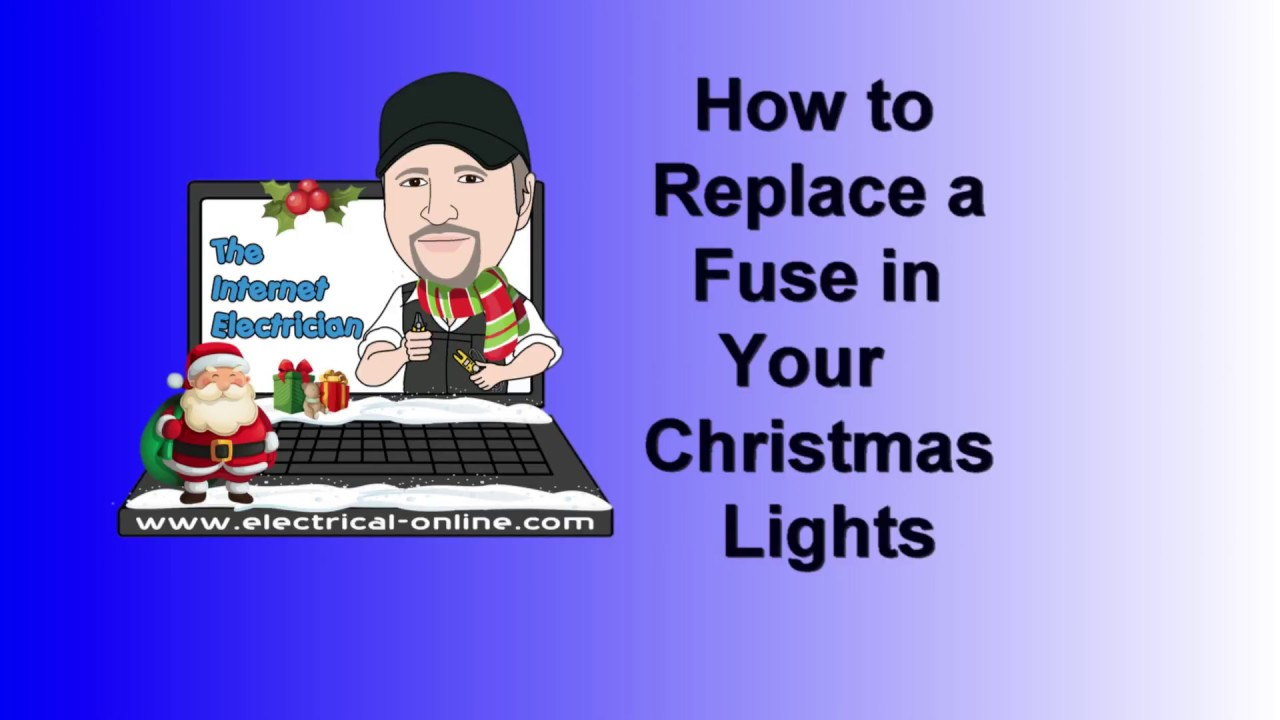 How To Replace A Fuse In Your Christmas Lights
