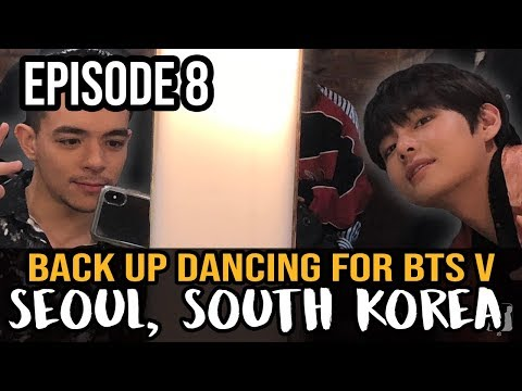 Back Up Dancing For BTS Member, V Kim Taehyung || SEOUL, SOUTH KOREA - Dance Travel EP 8