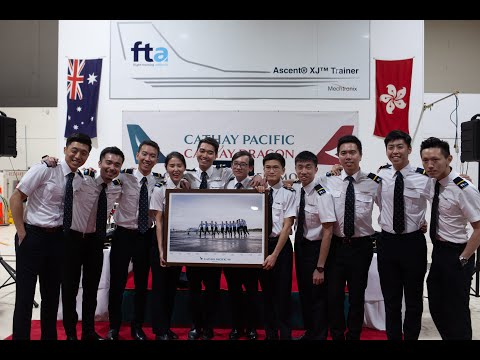 cathay-pacific-cp90---a-year-in-flight-training-adelaide-and-cadet-pilot-graduation-ceremony
