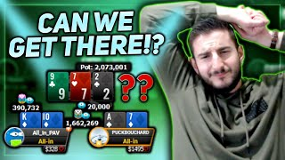 DEEP RUN in the $530 250k GTD - $40,000 to 1ST! HUGE SUNDAY!!