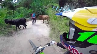 Downhill MTB Sessions in Colombia - Through My Eyes w/ Aaron Chase