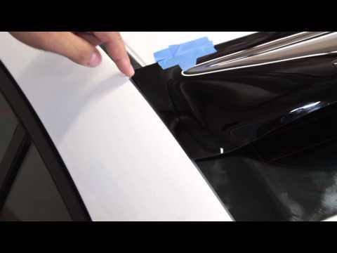 PRO Design Roof Spoiler (Rear Window Visor) Install - Honda Civic Sedan 2012 2013 2014 2015