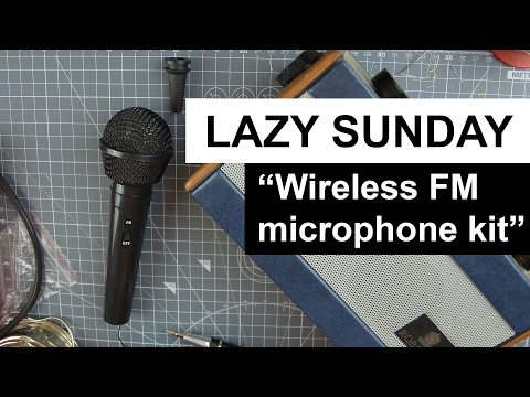 LAZY SUNDAY - Wireless FM microphone Kit