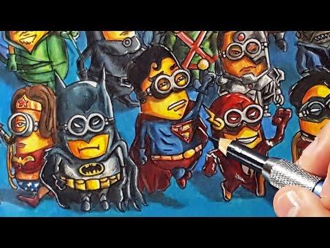 If Minions were DC comics characters
