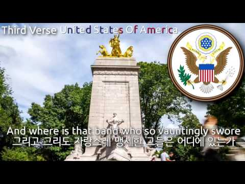 National Anthem of the United States of America [1814 version] - The Star Spangled banner (미국의 국가)