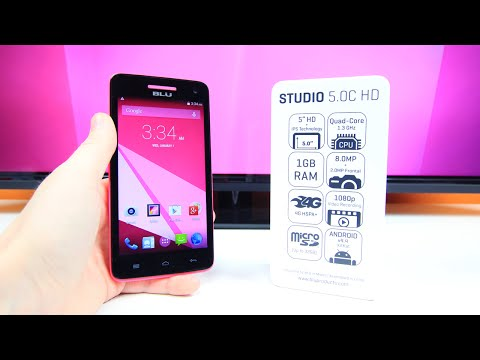 BLU 5.0C HD Unboxing & First Look