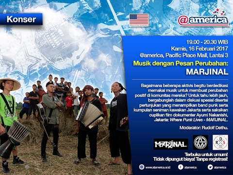 Music With A Message : Marjinal @atamerica