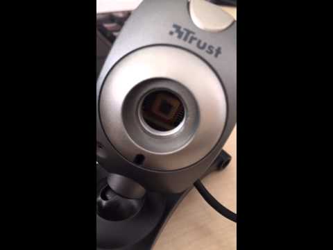 Trust WB-1400T Webcam's Focus Ring - Epic Fail