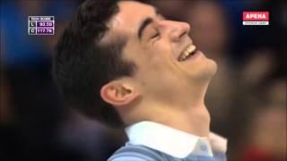Javier Fernández – Reacciones de los comentaristas a su programa libre en el mundial de Boston 2016