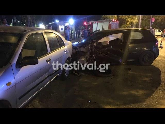 Thestival.gr Πολύνεκρο τροχαίο στο κέντρο της Θεσσαλονίκης