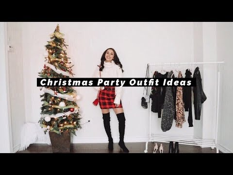 [VIDEO] - HOLIDAY PARTY OUTFIT IDEAS + HAUL | 2019 2