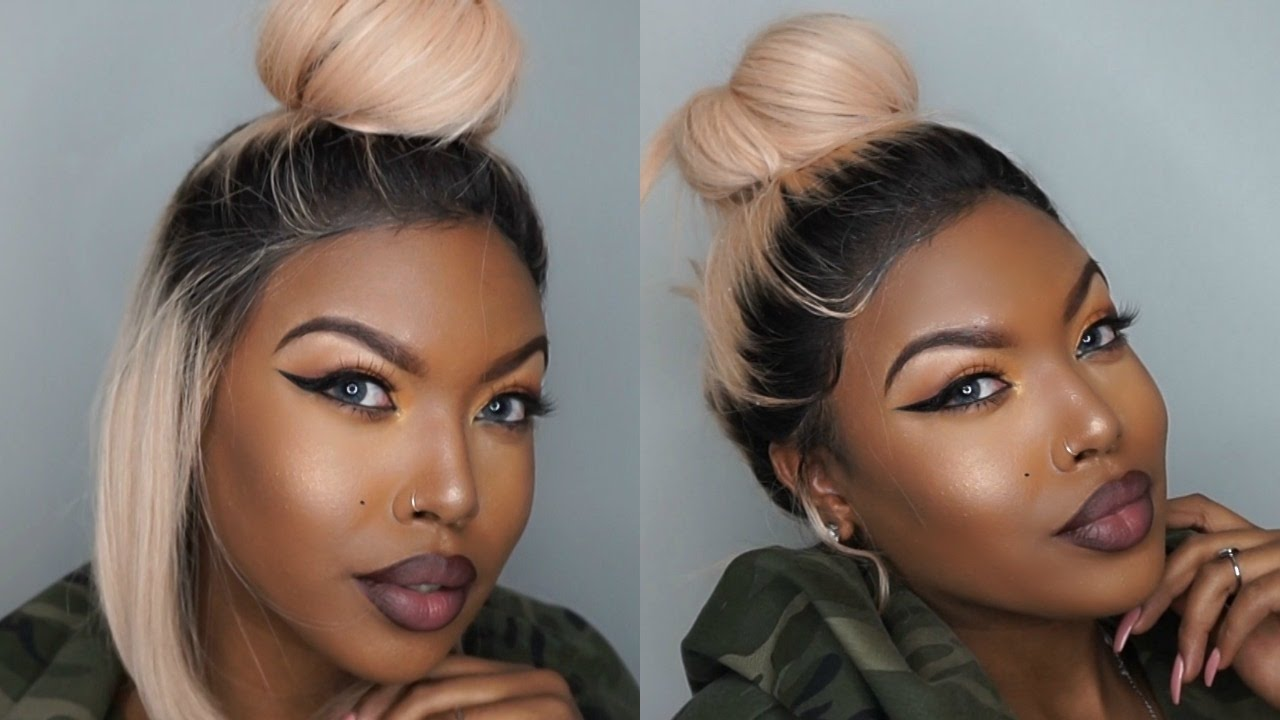Quick Amp Easy Updos For Lace Wigs Wowafrican Youtube